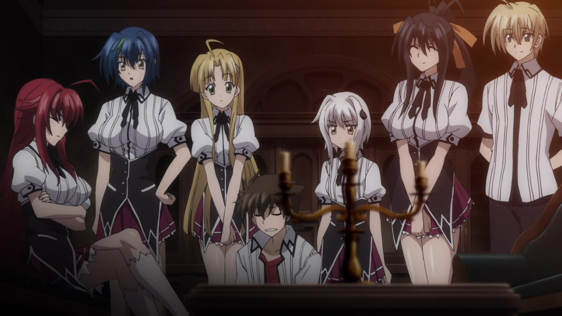 High School DxD New: Gekkou Koutei no Excalibur - Episode 9