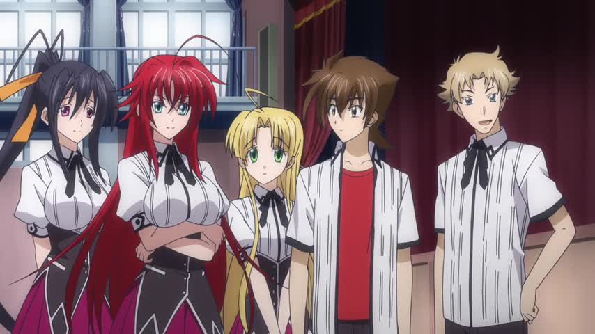 High School DxD New: Gekkou Koutei no Excalibur - Ep. 8 - SCY