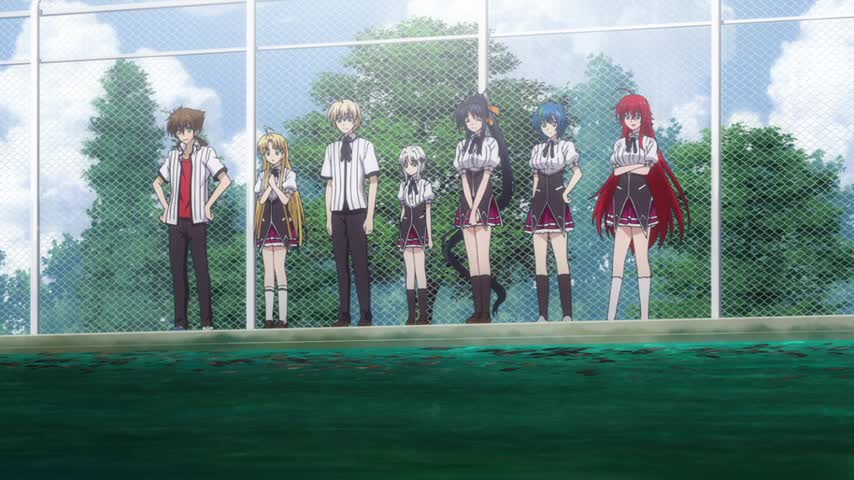High School DxD New: Gekkou Koutei no Excalibur - Ep. 7 - SCY