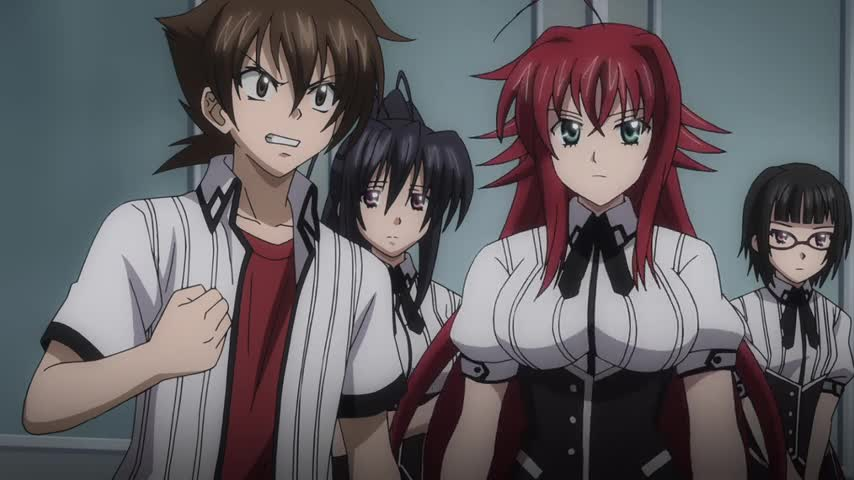 High School DxD New: Gekkou Koutei no Excalibur - Ep. 11 - SCY
