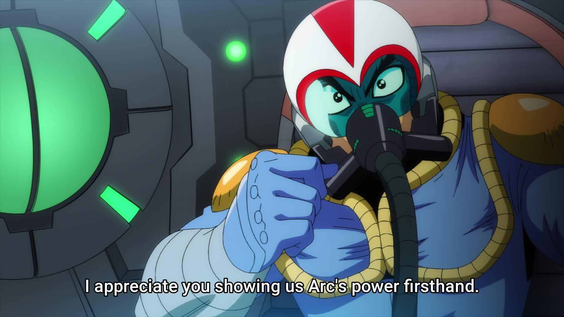 Getter Robo Arc - Episode 3